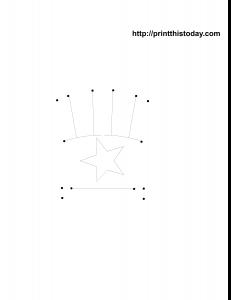 Free printable dot to dot