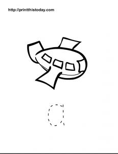 Free printable alphabet a worksheet for preschool