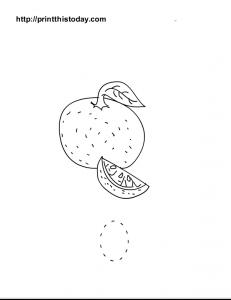 free printable tracing worksheet for preschool