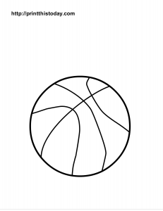 free coloring pages sports ball | Free Printable Sports Balls Coloring Pages