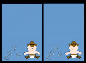 Free Cowboy Baby Shower Invitations