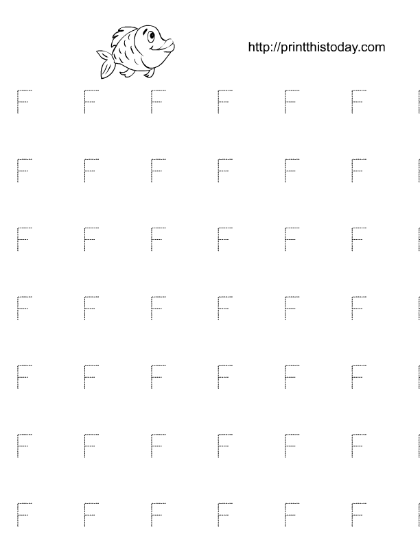 Free Printable Alphabet Tracing Worksheets for Kindergarten – Preschool Tracing Letters Worksheets
