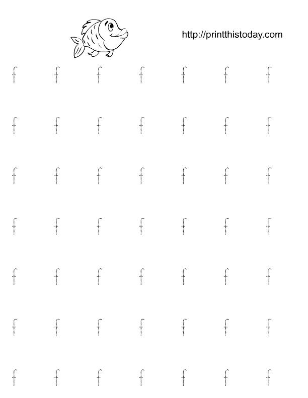 Free Printable Alphabet F Tracing Worksheets. Alphabet F Tracing Practice Worksheet. Preschool. Letter F Worksheet Preschool At Clickcart.co