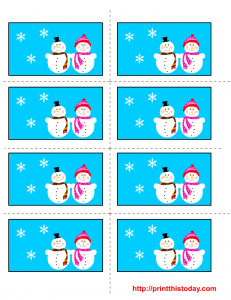 Free Printable Winter Labels