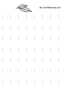tracing worksheet for kindergarten
