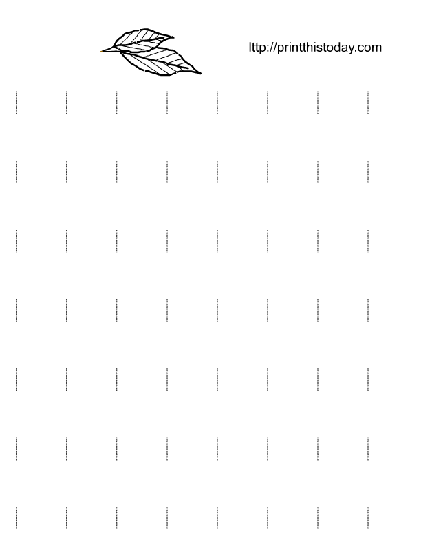 Letter Tracing Worksheets (Letters K - T)