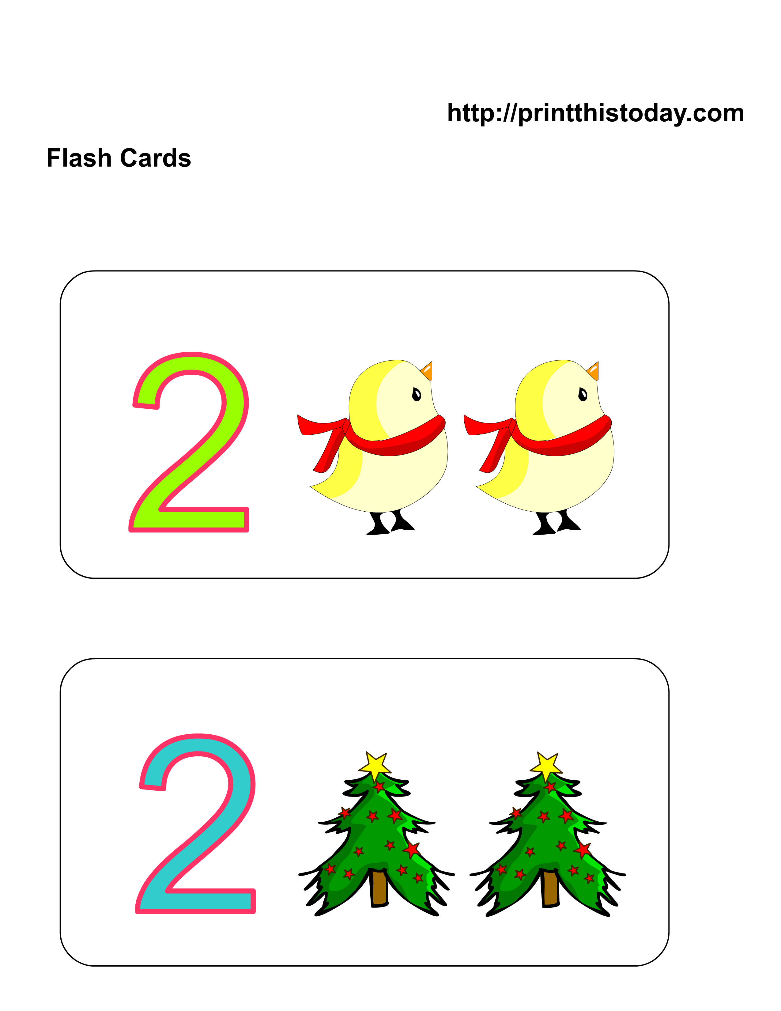 photograph about Number 2 Printable known as Cost-free Kindergarten Math Worksheets (Quantity 2, 2)