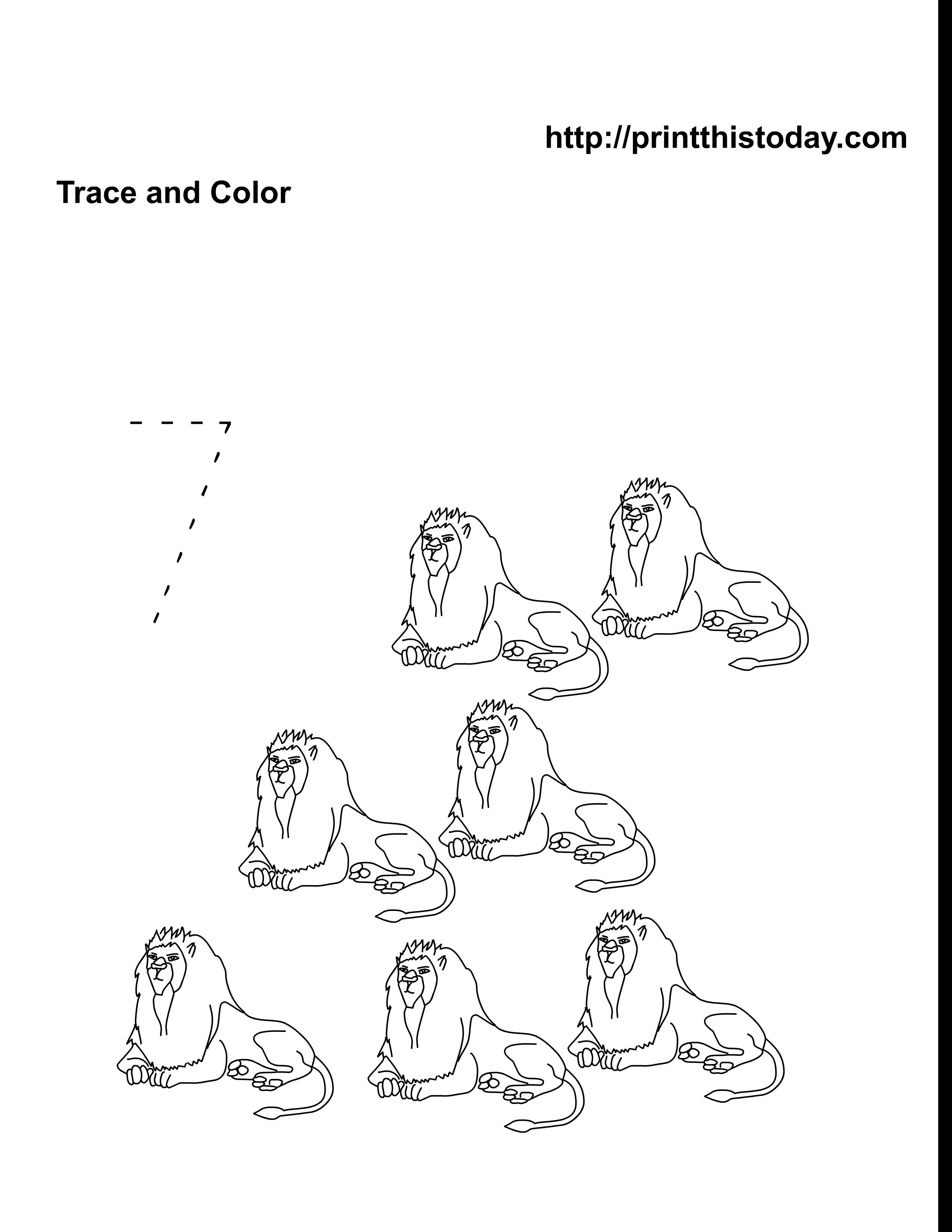 free pre kindergarten animals math worksheets