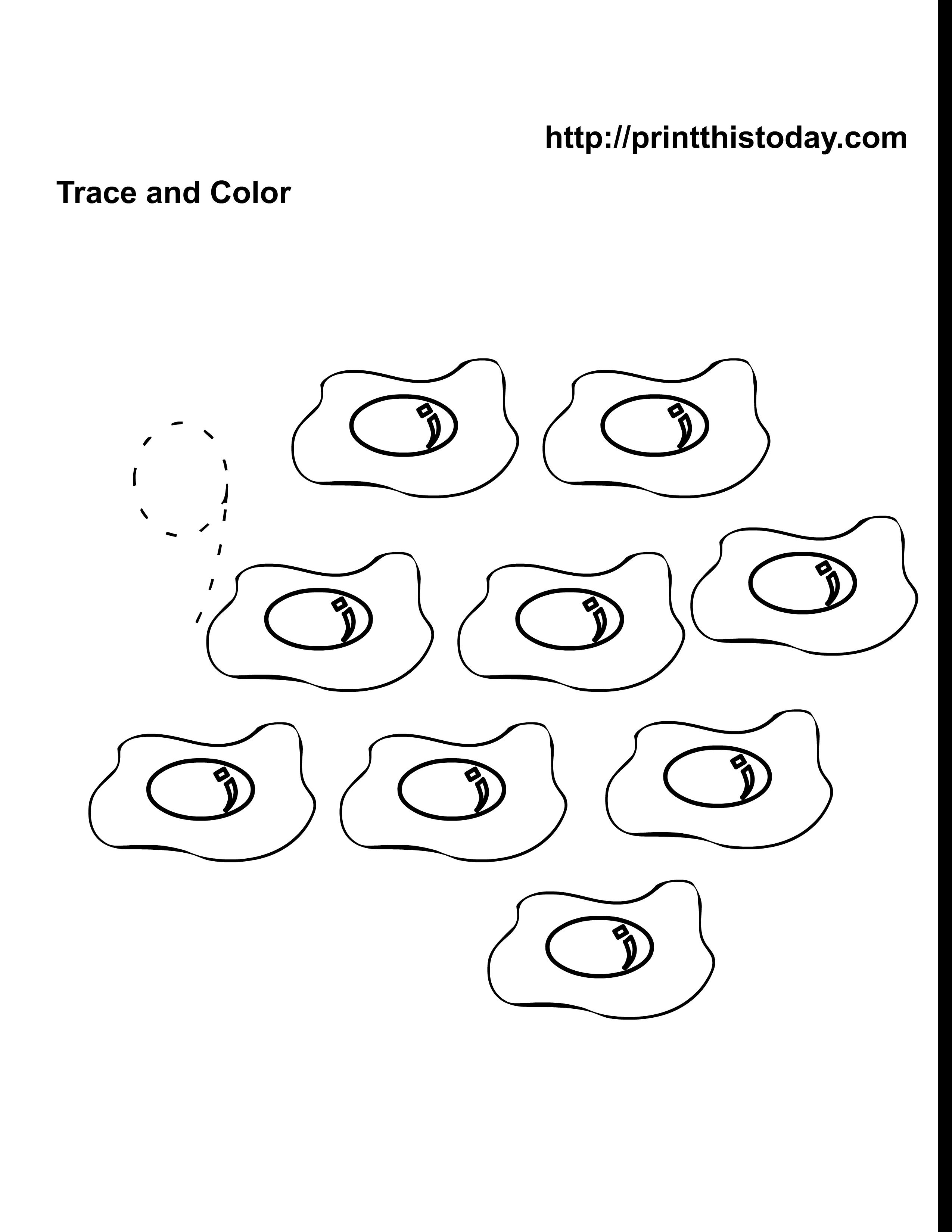 free kindergarten math worksheets number nine 9. Black Bedroom Furniture Sets. Home Design Ideas