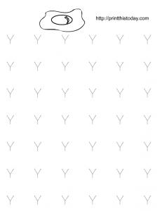 free printable alphabet tracing worksheet
