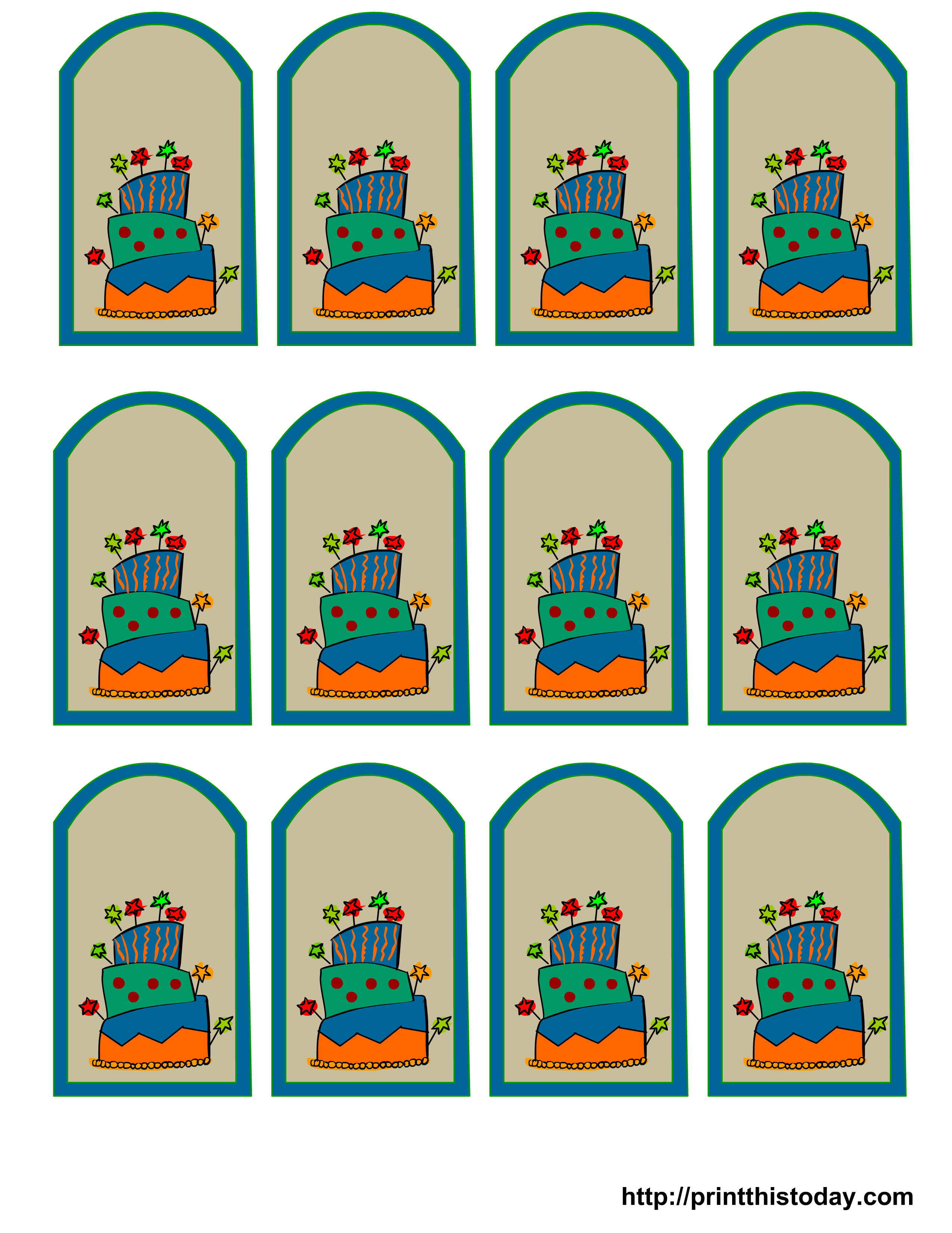 Free printable birthday favor tags free printable birthday party favor tags negle Gallery