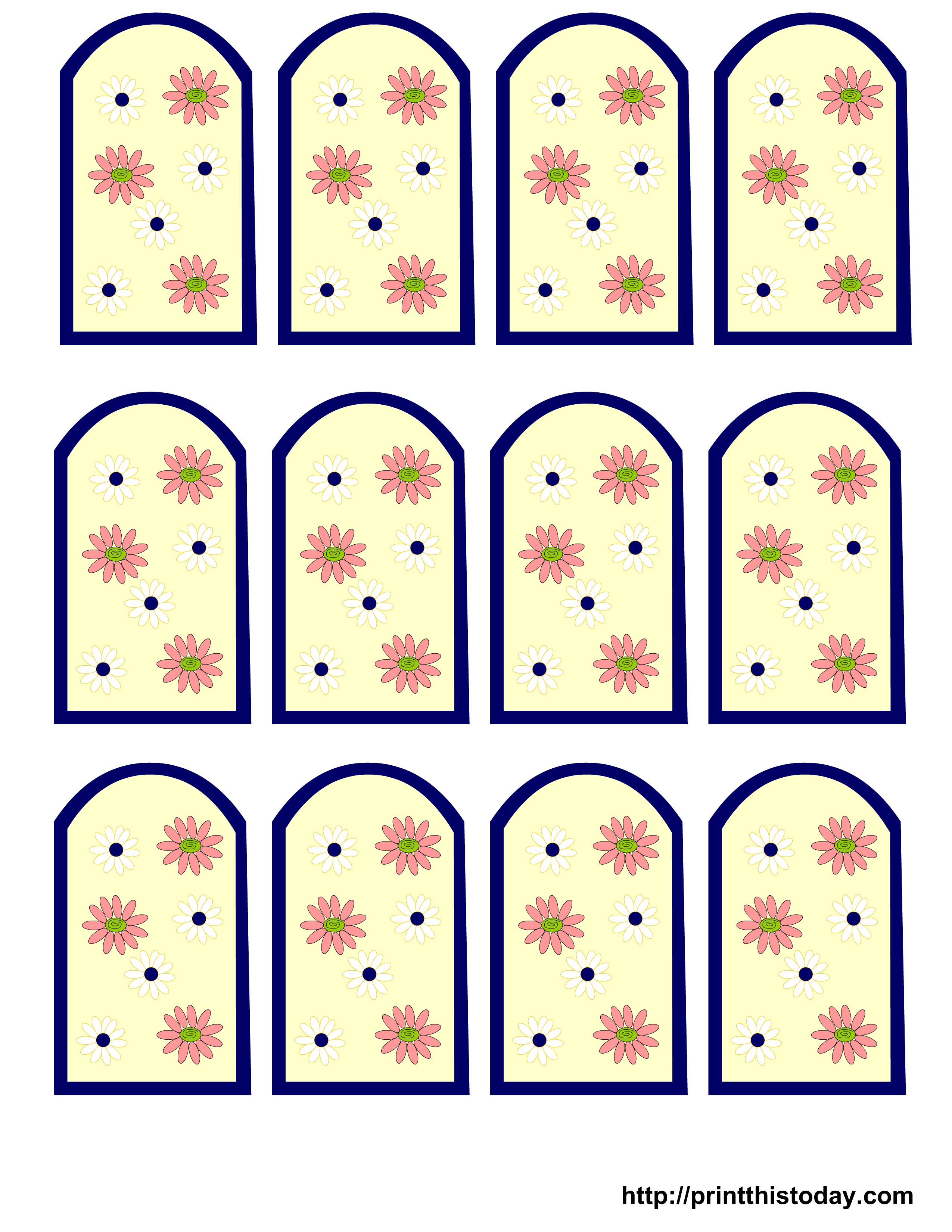 Pictures of Free Printable Tags For Favors - kidskunst.info