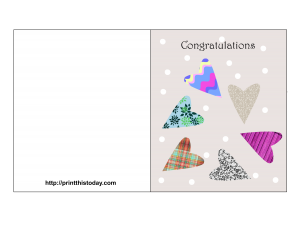 Free printable wishes on getting married cards