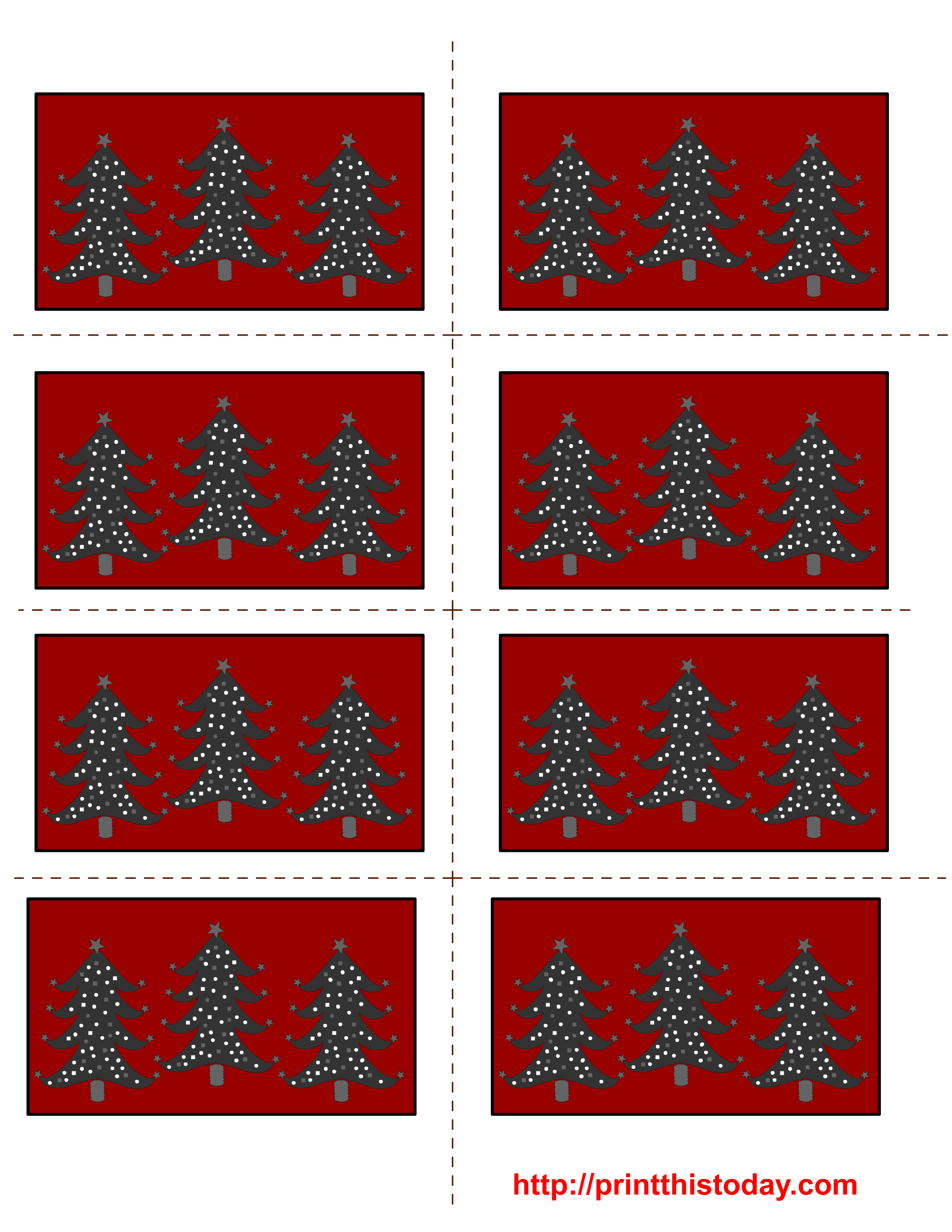 photo relating to Christmas Labels Printable identify No cost Printable Xmas Labels with Trees