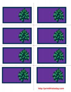 free printable Christmas labels