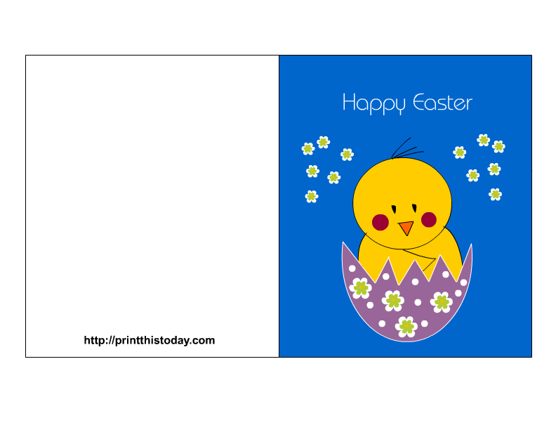 picture relating to Easter Cards Printable identified as Easter Playing cards