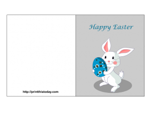 free printable Easter Card