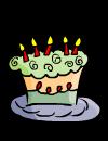 birthday clip art cake