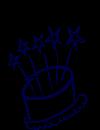 Free Birthday Clip-art cake