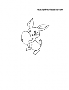 free printable Easter Coloring Page