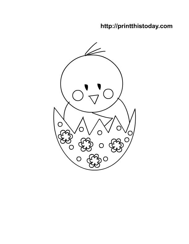 Easter Coloring Pages Printables