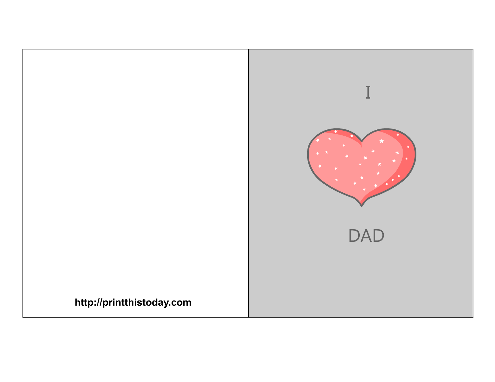graphic regarding Free Printable Father's Day Cards named Totally free Fathers working day playing cards (Printable)