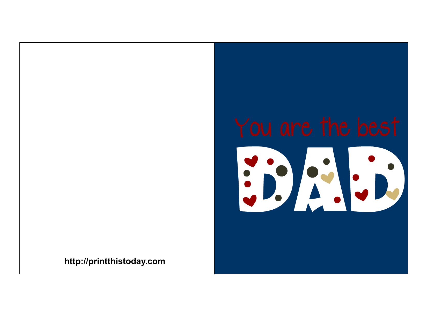 It's just a graphic of Dynamic Printable Fathers Day Cards