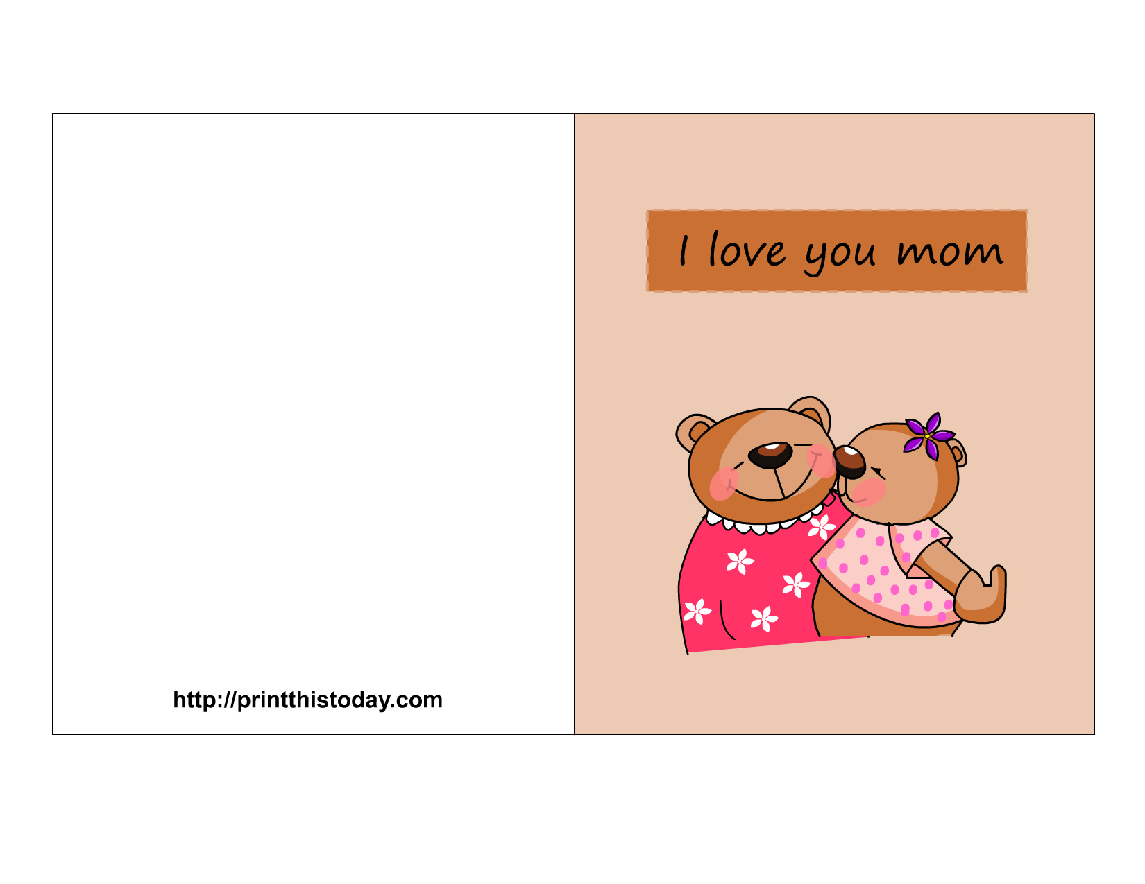 Free Mother's Day Cards (Printable)