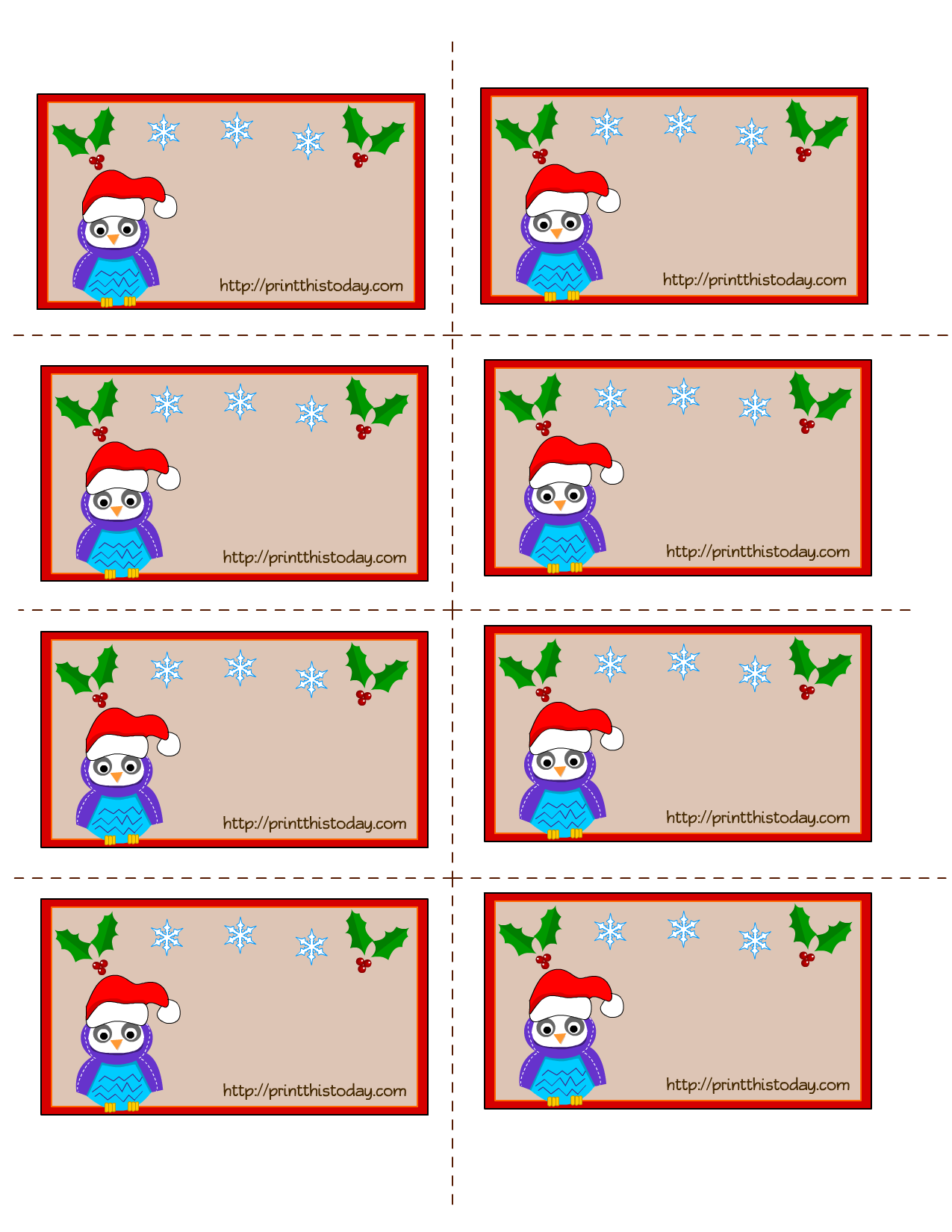 Labels Christmas Pictures to pin on Pinterest