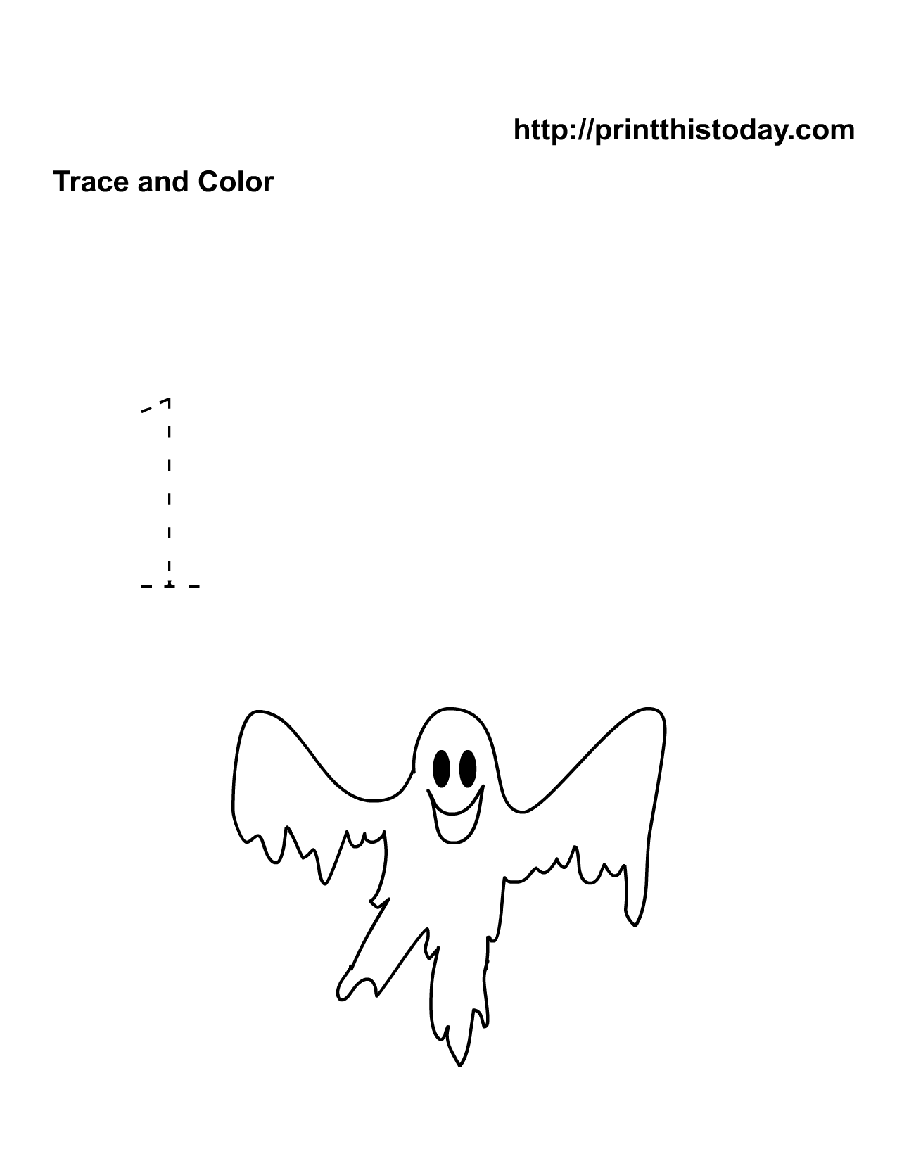 Free printable halloween math worksheets for pre school and number one halloween math worksheet robcynllc Images
