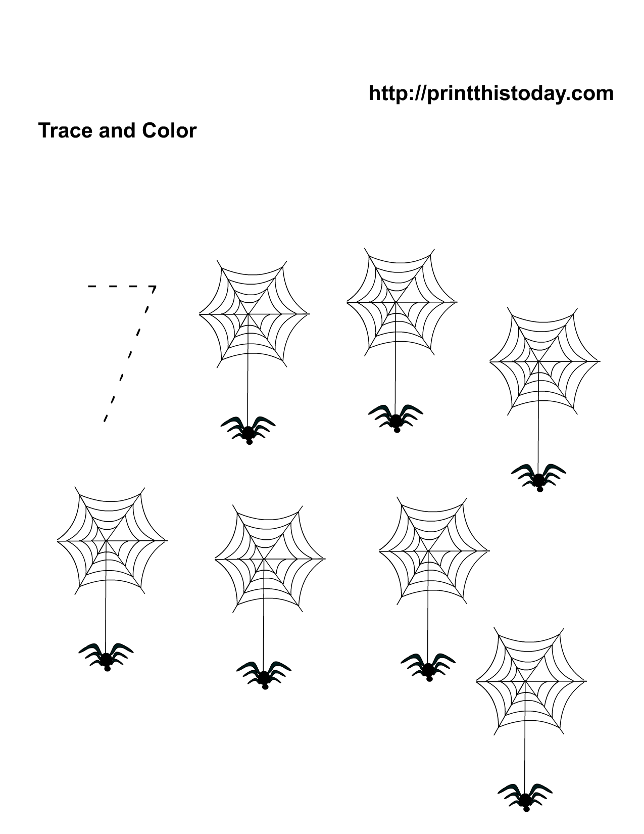 Free Printable Halloween Math Worksheets for PreSchool and – Halloween Worksheets for Preschool