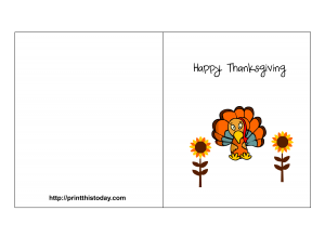 free printable thanksgiving card