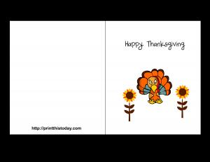 free printable thanksgiving card