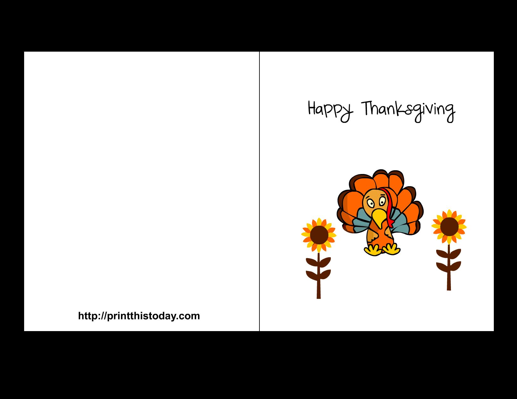 free printable thanksgiving cards. Black Bedroom Furniture Sets. Home Design Ideas