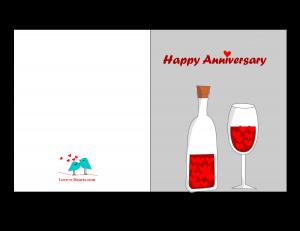Free Printable Anniversary Card