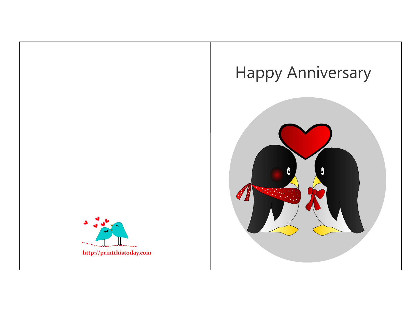 Fabulous image for printable anniversary cards