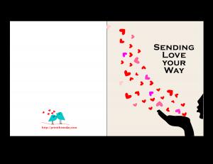 Send love on his way on Valentine's Day