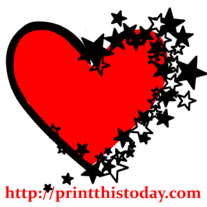 Two hearts together Clip Art