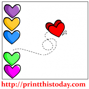 Made for each other Hearts Clip Art