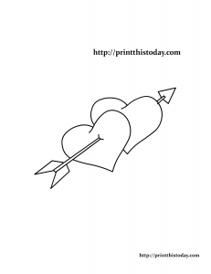 Free Printable Love Coloring Page