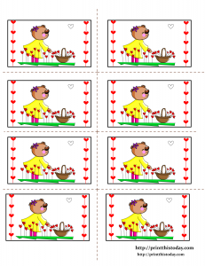 Teddy bear Labels