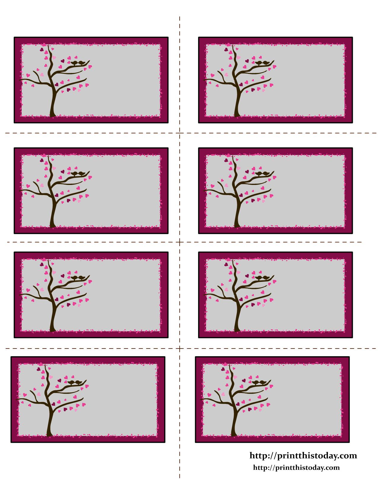 free valentine labels. Black Bedroom Furniture Sets. Home Design Ideas