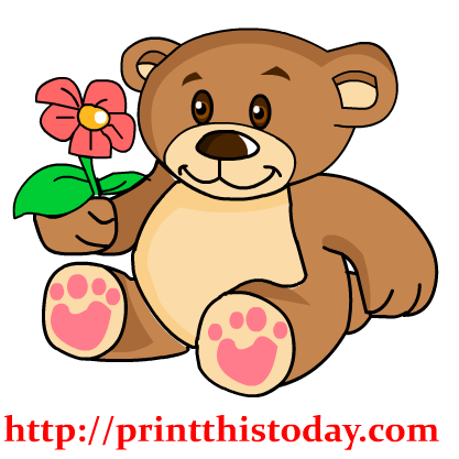 Free Teddy Bear Graphics Clipart