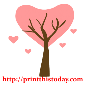 Love Tree Clip Art