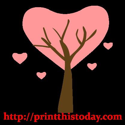 Love Tree Clip Art
