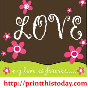 my love is forever clipart