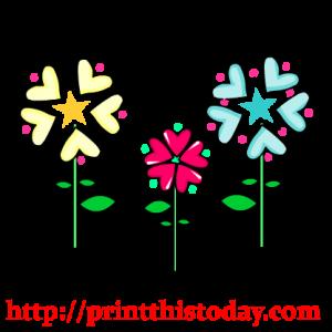 valentine flowers clip art