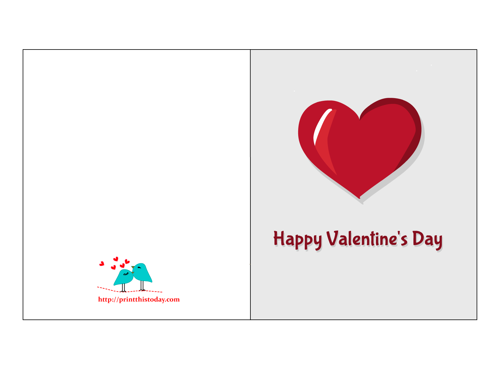 valentine cards featuring hearts
