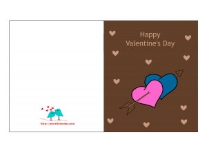 free printable valentine card