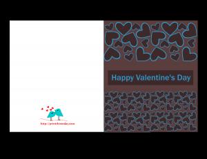 Hearts valentine day Card